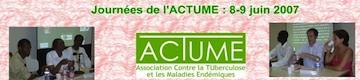 Journées de l'Association ACTUME 2007