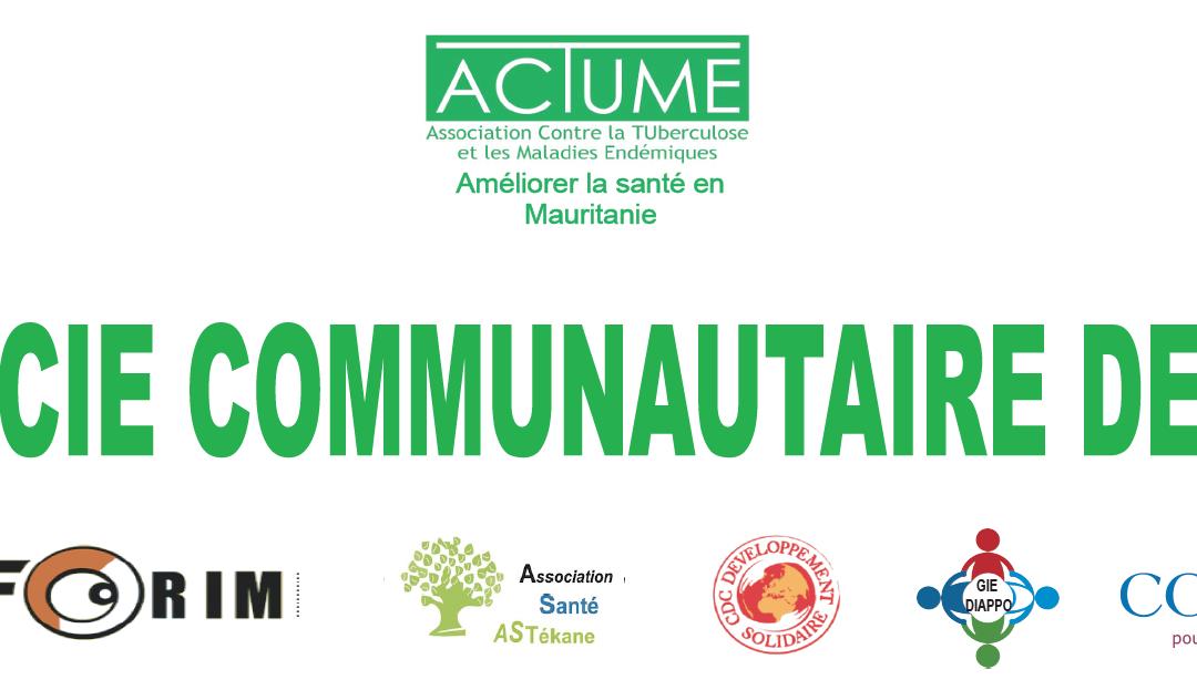 Pharmacie Communautaire de Tékane en Mauritanie – Communiqué de presse