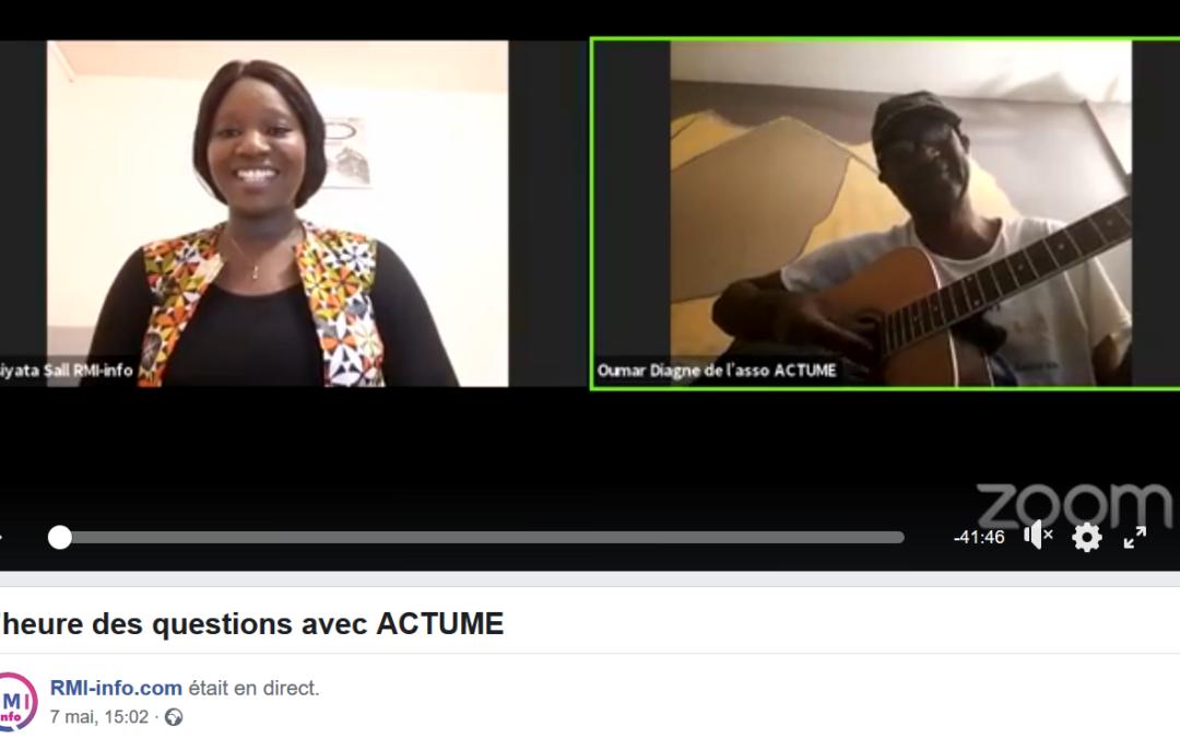 Solidarité Covid-19 – La Parole à Oumar DIAGNE, SG adjoint ACTUME
