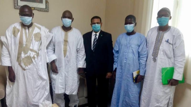 Rencontre de l'Association Santé Tékane (AST) et l'association Association Contre la Tuberculose et les Maladies Endémiques (ACTUME) avec le Ministre de la Santé