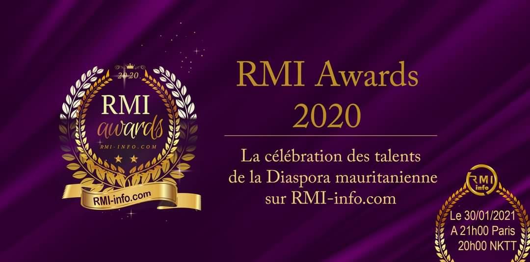 RMI Awards 2020 : célébration des talents de la diaspora en direct sur RMI-info.com