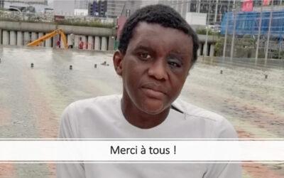 Cheikhou SAKHO : 3 mois de convalescence après 2 interventions chirurgicales menées avec succès !
